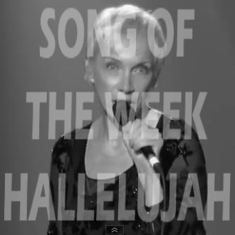 Song Of The Week: Annie Lennox Covers Hallelujah
