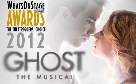 Ghost The Musical Take 3 Prizes At The Whats On Stage  Awards Last Night
