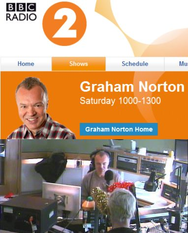 Annie Lennox On The Graham Norton Show On BBC Radio 2