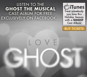 You Can Now Listen To The Ghost The Musical Cast Recording For Free