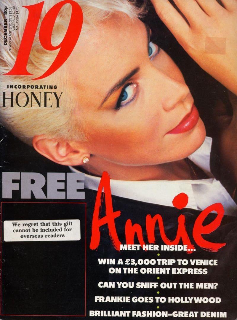Magazine Of The Week: Annie Lennox – 19 – UK (1986)