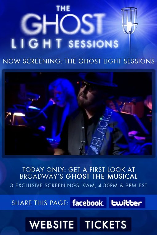 Ghost The Musical – Ghost Light Sessions A Resounding Success