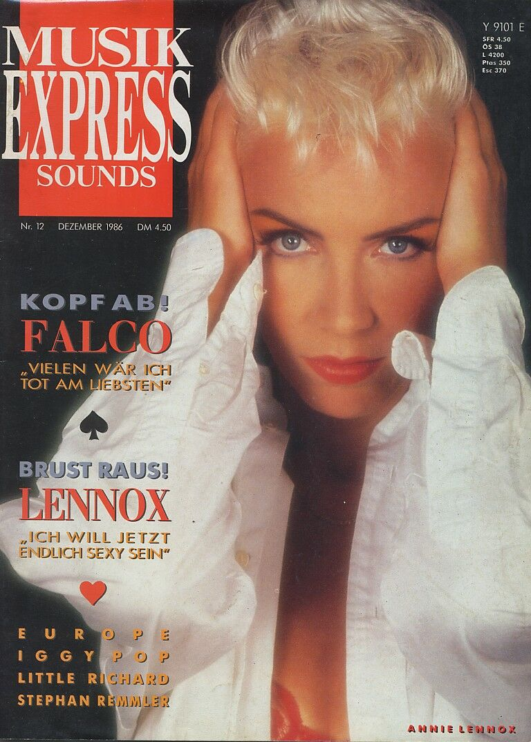 Magazine Of The Week: Eurythmics – Musik Express – Germany (1986)