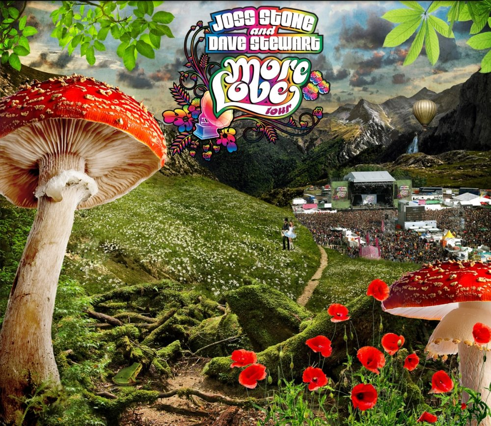 Check Out Dave Stewart And Joss Stone's Latest Videos And Mushroom Love At MoreLove.Net