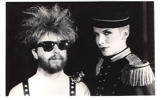 Photo Of The Week: Press Photo Of Eurythmics For Grammy's 1984
