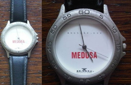 Memorabilia Of The Week: Annie Lennox Promotional Watch For Medusa
