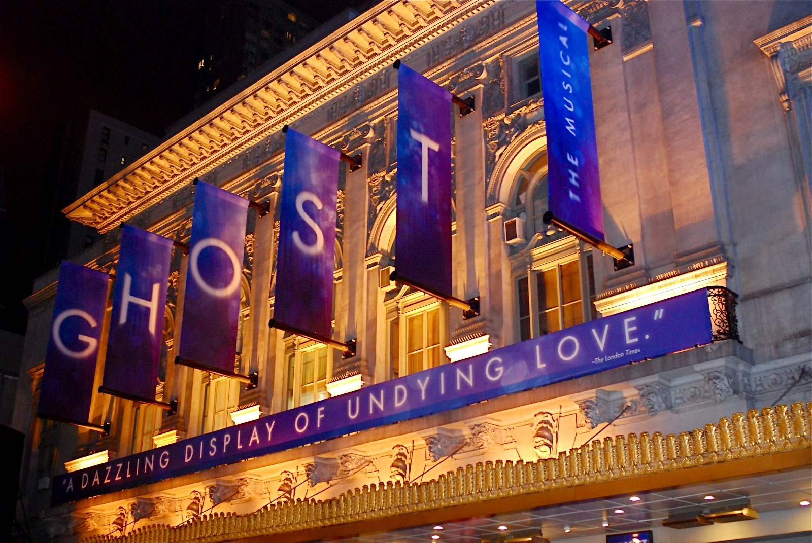 Dave Stewart's Ghost The Musical Will Offer Free Lottery Tickets to Final Broadway Performance In 4 Days Time
