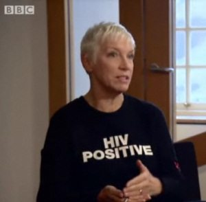 Annie Lennox Talks To David Henderson for The BBC's Sunday Politics Scotland Programme