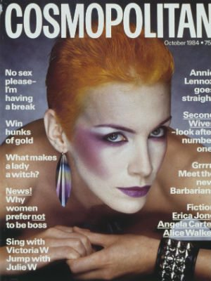 Cosmo Meets Annie Lennox To Talk About The F Word Campaign And International Womens Day