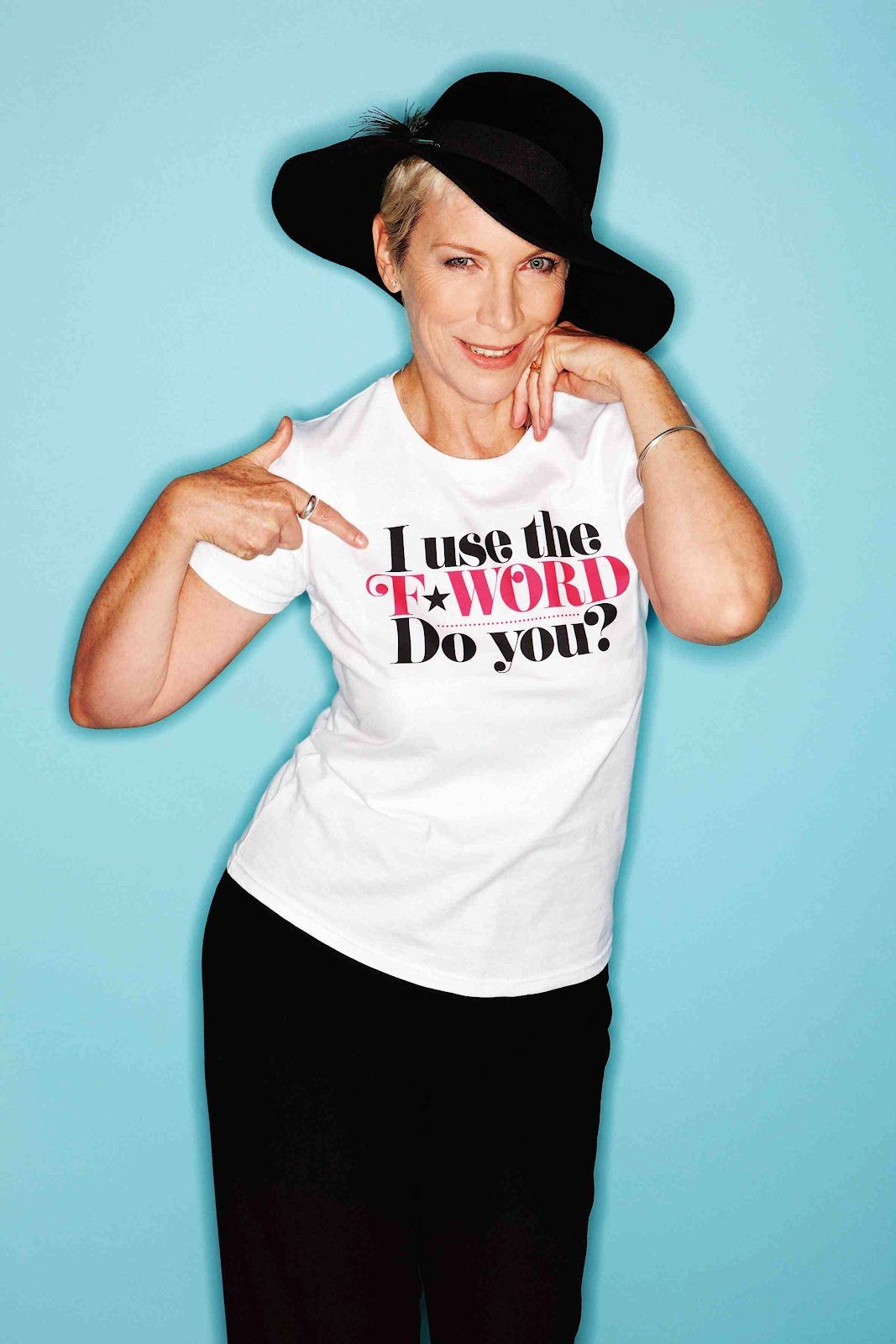 One Thing To Do Today: Back The Cosmopolitan F-Word Campaign For Equal Pay As Supported By Annie Lennox