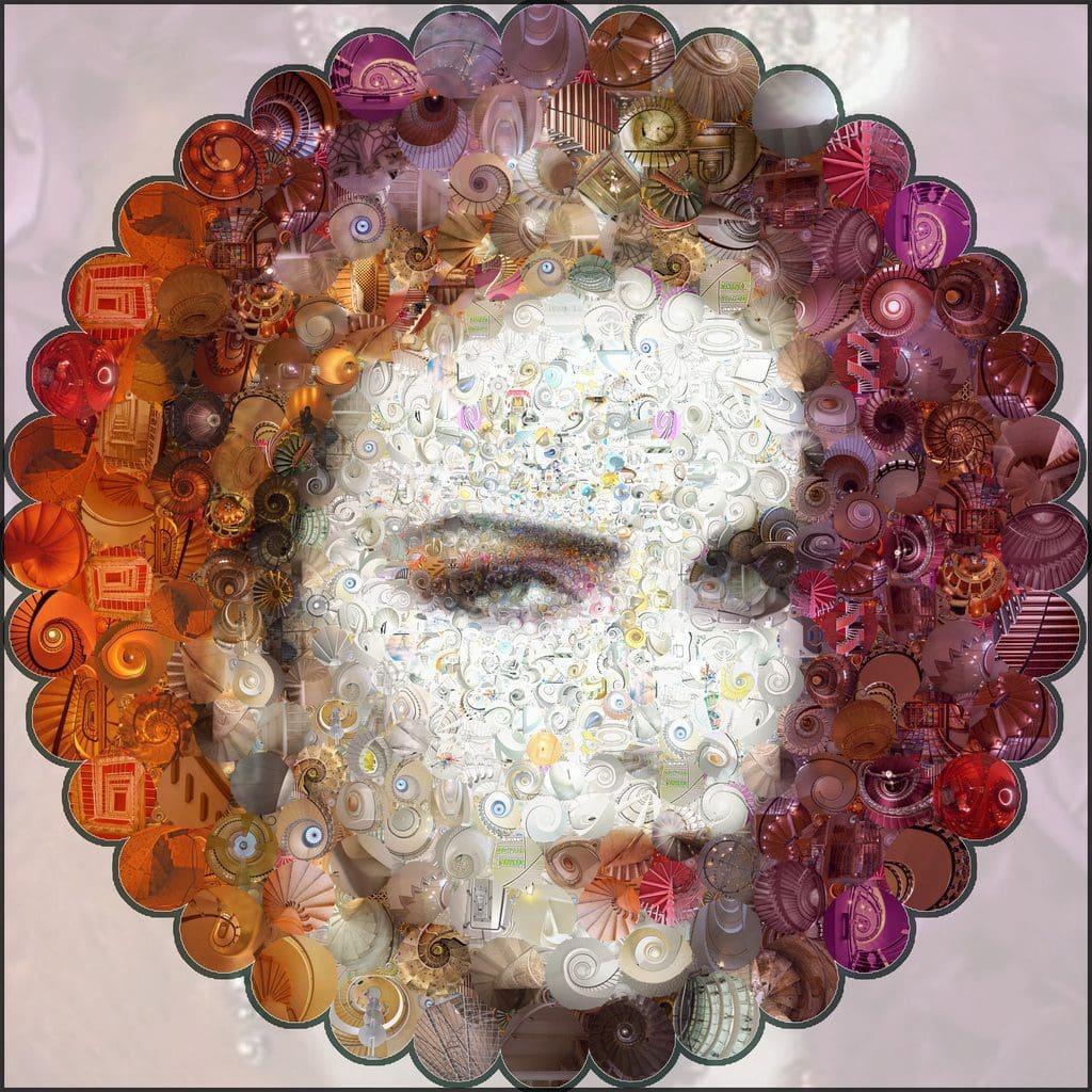 DIVA 20th Anniversary: Diva Inspired Spiral Staircase Mosaic