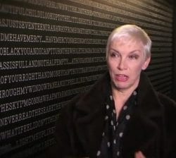 Annie Lennox Interview With The Lowry Inside The Corridor Of Lyrics