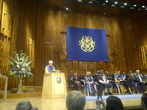 Annie Lennox Awarded Honorary Degree Of Doctor Of The Open University