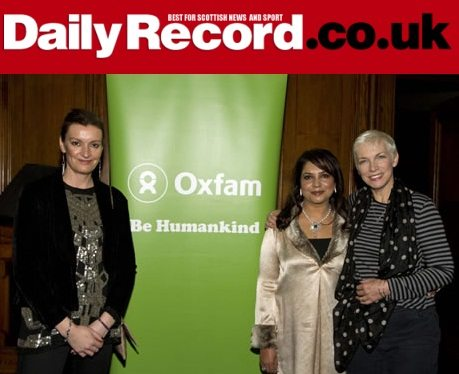 Daily Record: Annie Lennox Joins Influential Scottish Women In The Circle To Highlight Domestic Abuse