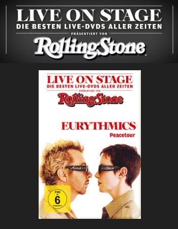 Eurythmics Peacetour DVD Gets Rolling Stone Live On Stage Re-Release
