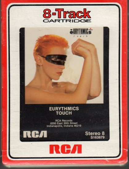 Record Of The Week: Eurythmics Touch Album On 8 Track Tape