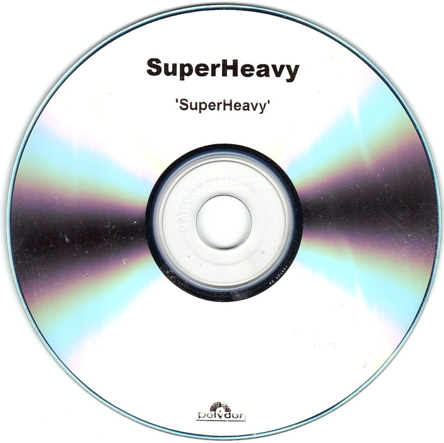 Record Of The Week: UK Superheavy Album Record Company Internal Polydor Promo CDR