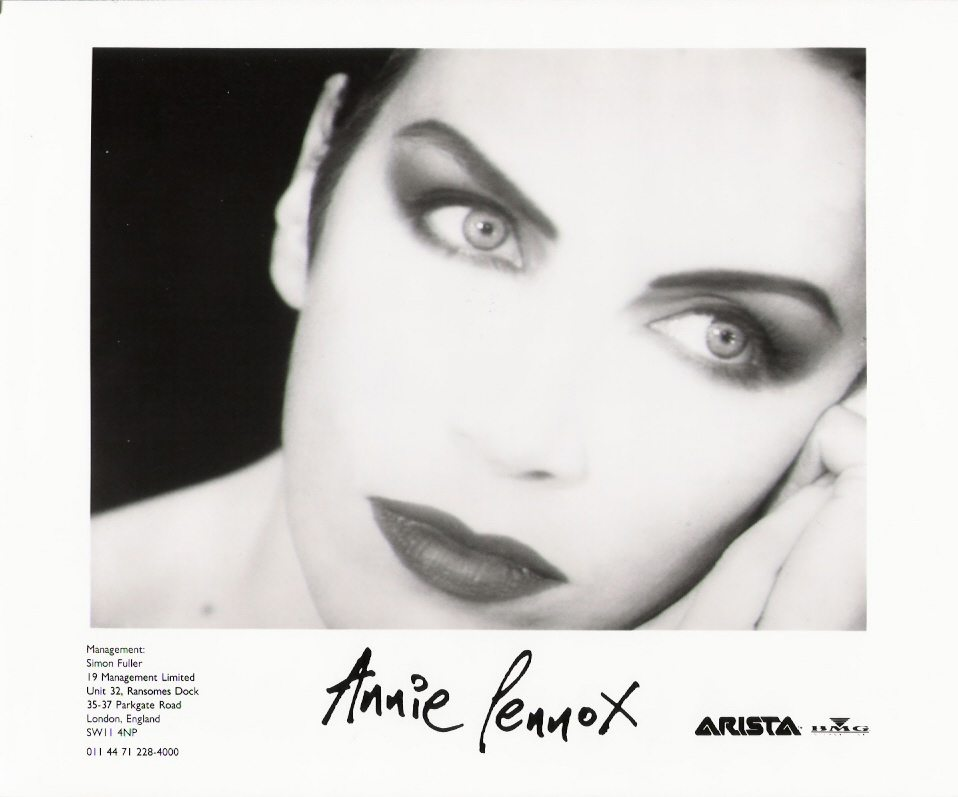 DIVA 20th Anniversary: Photo Of The Week: Annie Lennox – Diva