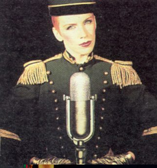 Ultimate Eurythmics Rare Photo Feature Day 8 – Annie Lennox The Bellboy