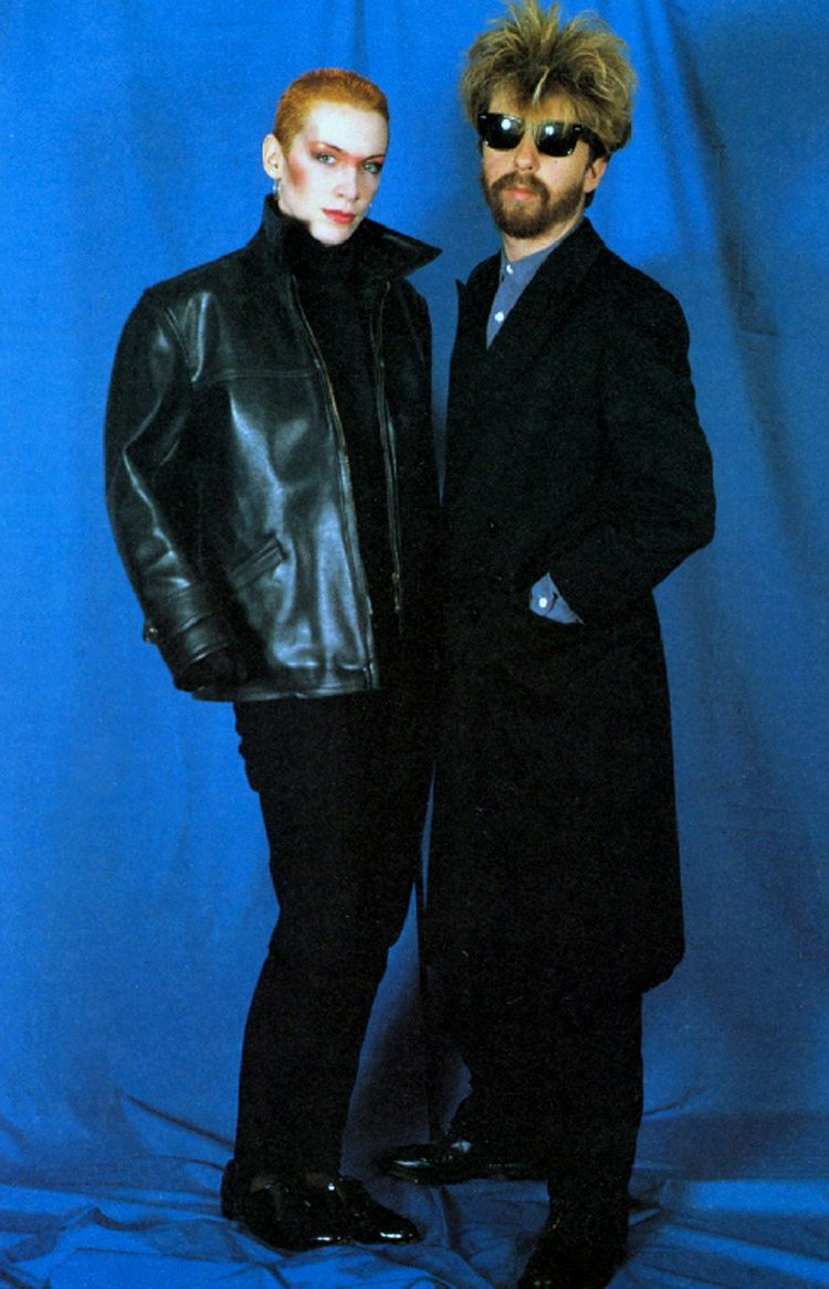Ultimate Eurythmics Rare Photo Feature Day 6 – Annie & Dave Ready For A Night Out?