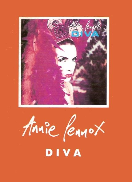 DIVA 20th Anniversary Extras: Promotional Polish Lyric Booklet For Annie Lennox's Album DIVA