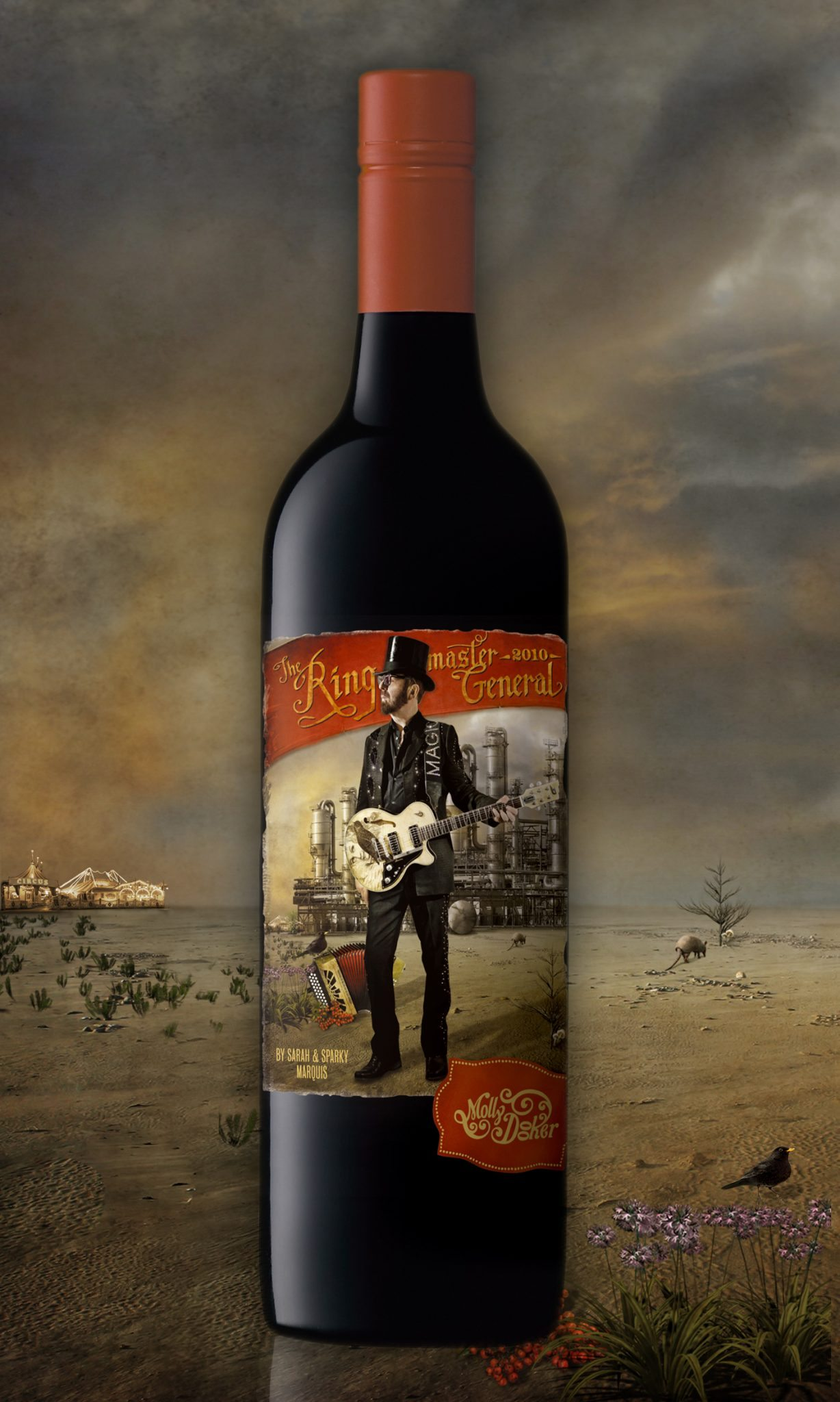 The Ringmaster General Molly Dooker Wine Box Set Now Available In The UK With Exclusive Discount