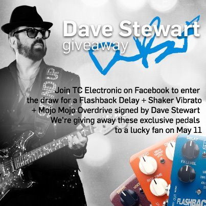 Dave Stewart Competition With Audio Manufacturer TC Electronic