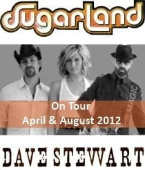 Dave Stewart Playing Live With Sugarland Tonight As 6 Date Support Tour Starts