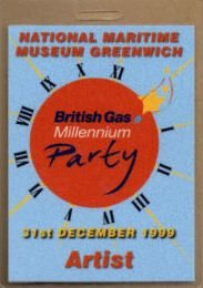 Memorabilia Of The Week: Rare Eurythmics Millenium Concert Backstage Pass From London's Royal Greenwich Observatory