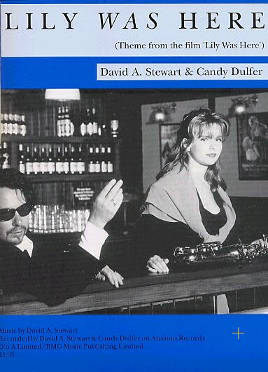 Memorabilia Of The Week: Dave Stewart & Candy Dulfer Lily