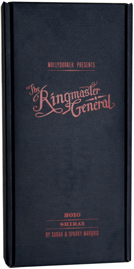 Video of the Week – The Ringmaster General Mollydooker Wine Gift Set Promo