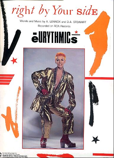 Memorabilia Of The Week: Rare Eurythmics Right By Your Side Sheet Music