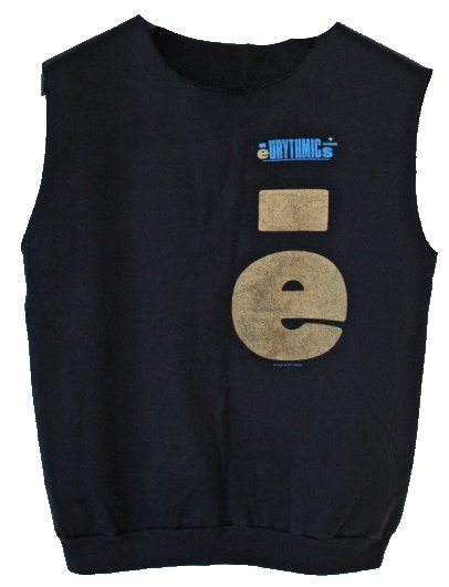 Memorabilia Of The Week: Rare Eurythmics Sleeveless Sweat Shirt