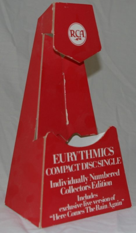 Memorabilia Of The Week: Rare Counterstand For Eurythmics You Have Placed A Chill In My Heart
