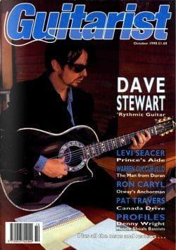 Magazine Of The Week: Dave Stewart – The Guitarist – UK (1990)