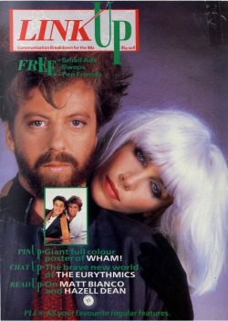 Magazine Of The Week: Eurythmics – Link Up – UK (1984)