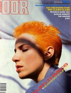Magazine Of The Week: Eurythmics – Oor – The Netherlands (1984)