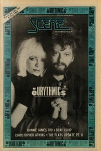 Magazine Of The Week: Eurythmics – Scene Magazine (USA) 1984