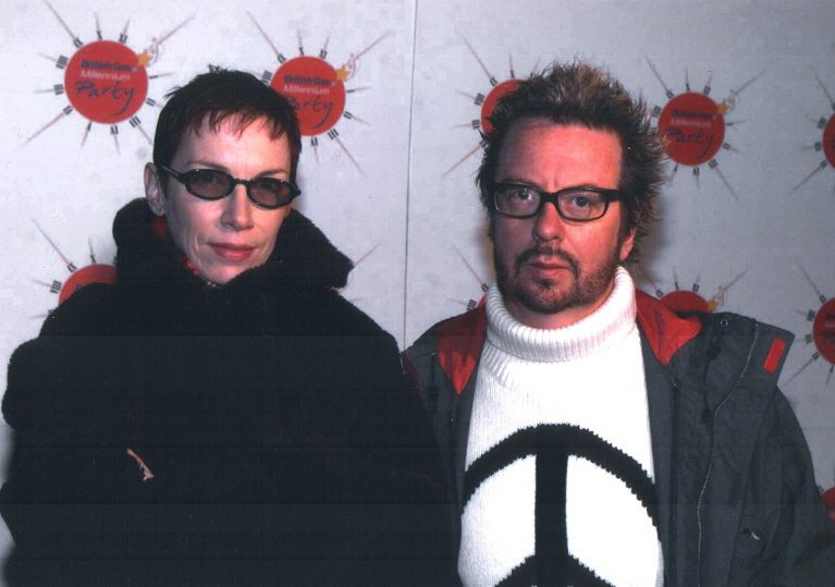 Ultimate Eurythmics Rare Photo Feature Day 29 – No It's Not A Steering Wheel On My Jumper!