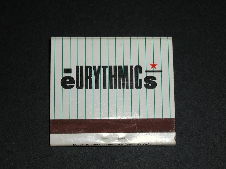 Memorabilia Of The Week: Very Rare Eurythmics Book Of Matches