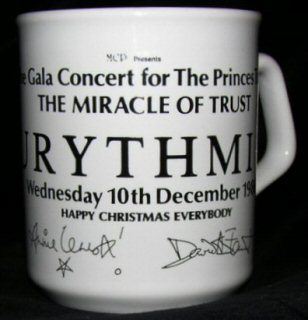 Memorabilia Of The Week: Rare Eurythmics Miracle Of Trust Porcelain Mug