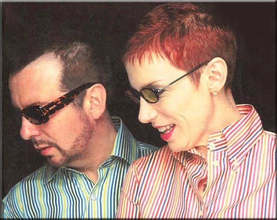 Ultimate Eurythmics Rare Photo Feature Day 28 – Stripey Stripey Stripey Stripes!