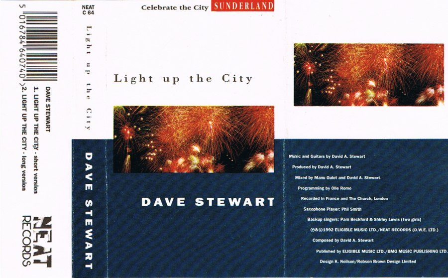 Record Of The Week: Rare Dave Stewart Cassette Single For Light Up The City