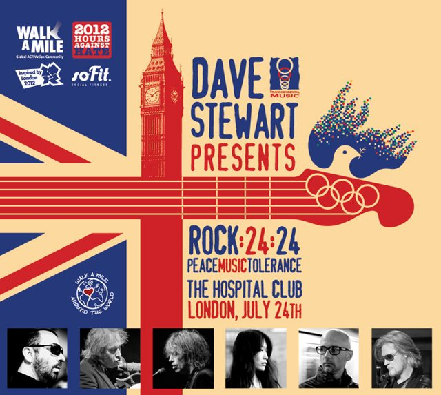 Dave Stewart Presents Music That Changes The World Live From The Hospital Tonight