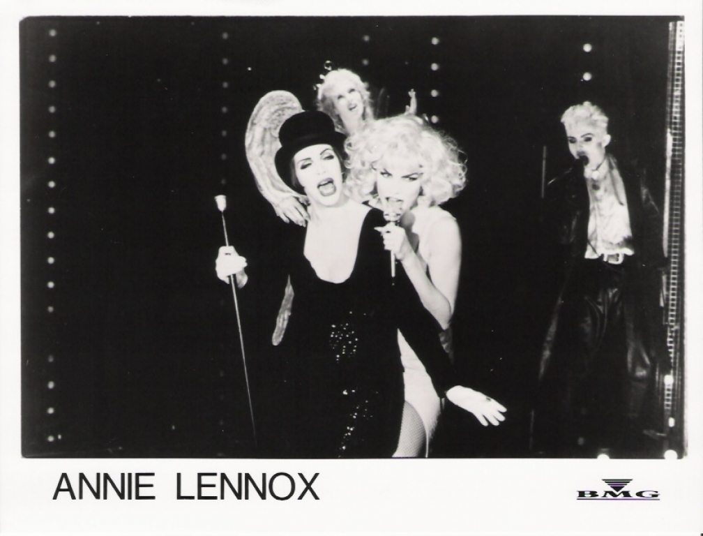 Photo Of The Week: Annie Lennox Little Bird Video Shoot