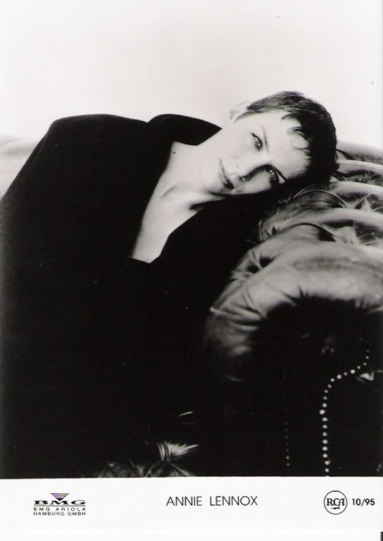 Photo Of The Week: Annie Lennox – Resting On A Sofa