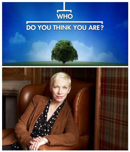 Watch Annie Lennox On Who Do You Think You Are Online