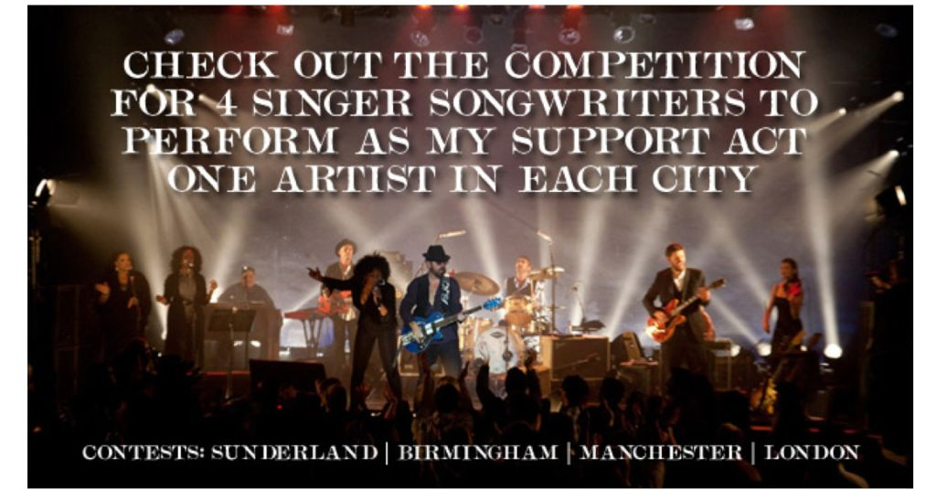 Win The Chance To Be A Support Artist For Dave Stewart's Upcoming UK Tour