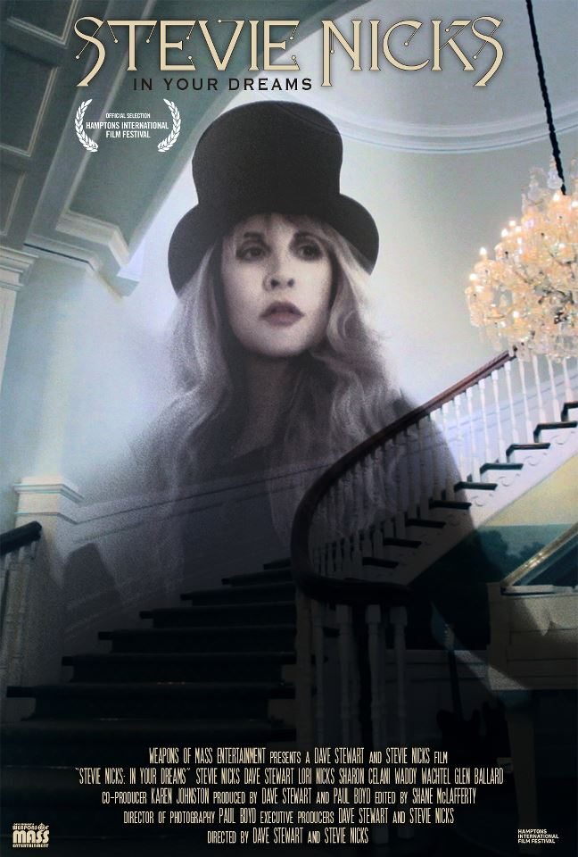 New Stevie Nicks Interview About The In Your Dreams Documentary Premiere With Dave Stewart
