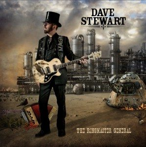 Signed Copies Of Dave Stewart's The Ringmaster General Vinyl LP Are Now On Sale